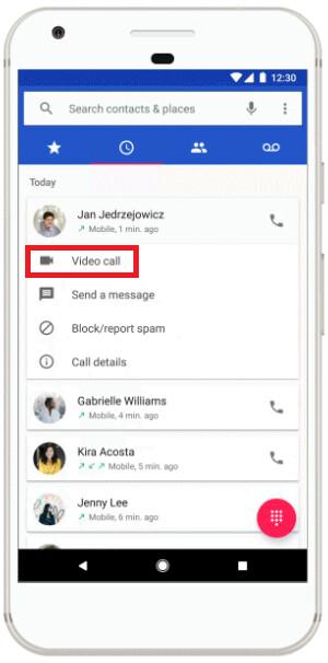 Ab heute können einige Handys einen Duo-Video-Chat von einem Trio aus Android-Apps senden.