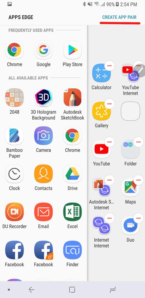 Produktivität überwältigend - App Pairs ist eines der besten versteckten Features von Galaxy Note 8