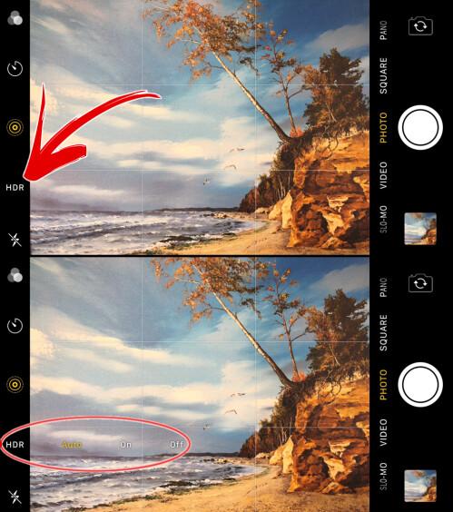 Wie man die HDR-Einstellungen der Kamera in iPhone 8, 8 Plus, iPhone X