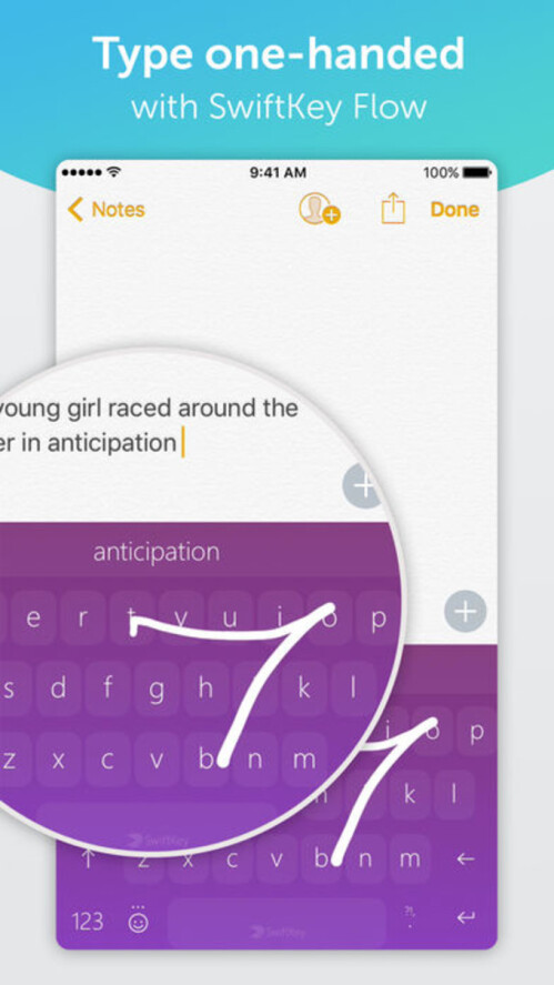 Neues SwiftKey für das iPhone-Update fügt den Microsoft-Kontosupport hinzu