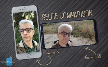 IPhone 8 Vs Samsung Galaxy S8 Selfie Camera Comparison
