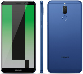 The Huawei Mate 10 Lite