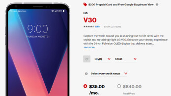 Deal: Save $200 on an LG V30 from Verizon