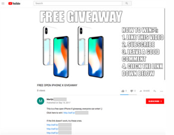Legit iphone giveaways