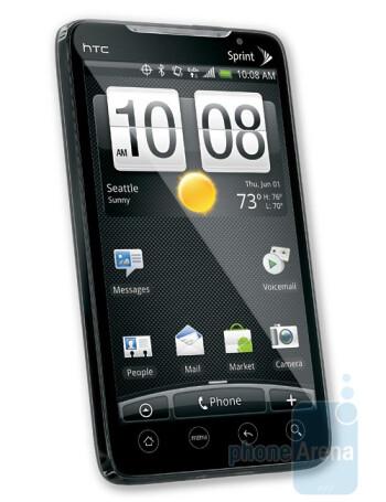 The HTC EVO 4G
