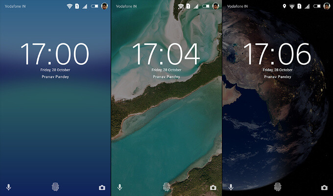 Live Wallpapers on your Android phone
