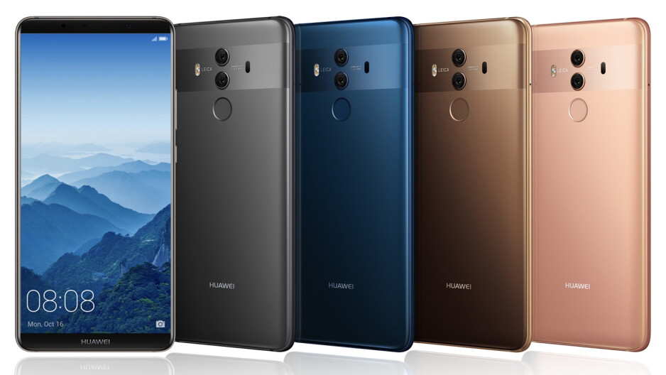 """Huawei unveils the Mate 10 and Mate 10 Pro: putting the """"smart"""" back in """"smartphone"""""""