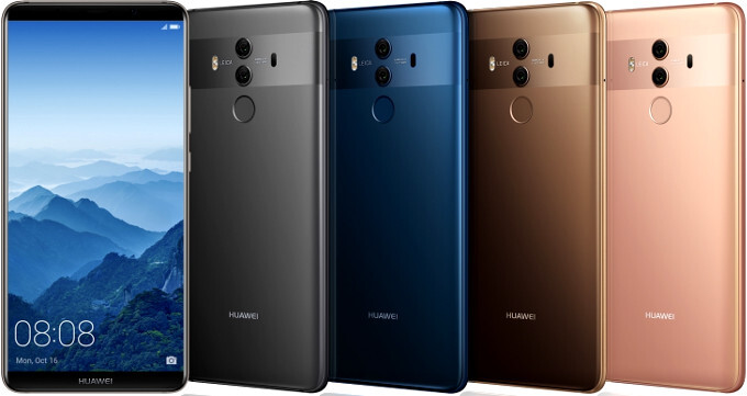 Huawei Mate 10 and 10 Pro price and release date