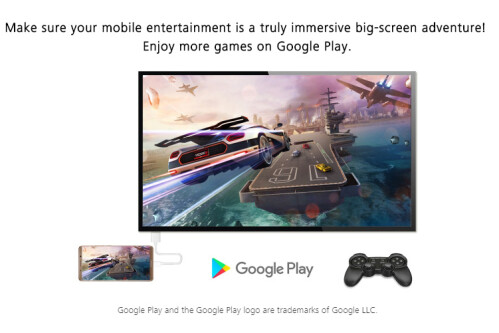 Link your Mate 10 to a larger screen