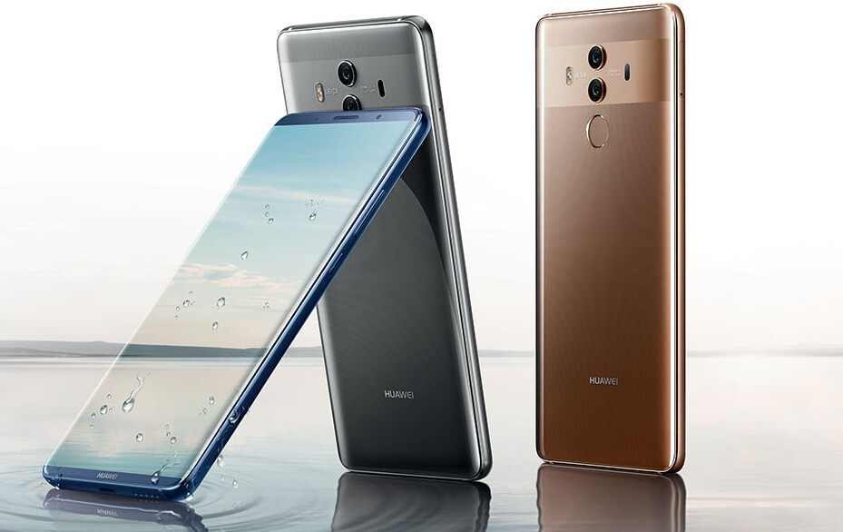 Huawei Mate 10 Pro doesn't have a 3.5mm headset jack, but comes with adapter and USB Type-C earphones