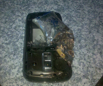 Owner witnesses his Samsung Rogue explode in front of his eyes