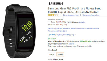 Deal: Samsung's Gear Fit 2 Pro fitness band is already 15  off on Amazon