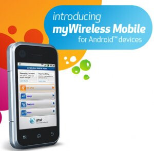 "AT&T Android owners can access their account with ""myWireless Mobile"" app"