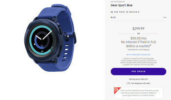 Deal: Pre-order the Samsung Gear Sport smartwatch and get 6 months of Spotify Premium for free