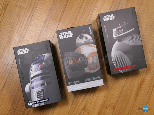 Sphero Star Wars BB-8, BB-9E, & R2D2 hands-on
