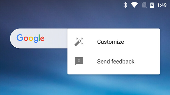 Google App is getting a customizable search bar widget in