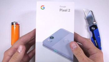 Torture mania: Google Pixel 2 receives the scratch, burn, and bend treatment on video