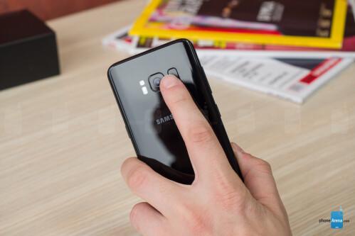 An actual fingerprint scanner