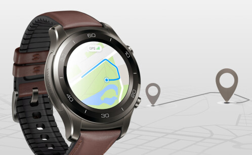 With its cellular connectivity the watch offers GPS capabilities