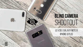 Blind camera shootout: LG V30 vs iPhone 8 Plus vs Galaxy Note 8
