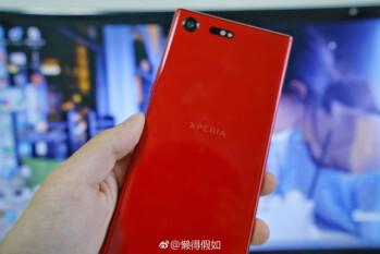 Red Sony Xperia XZ Premium leaked on Weibo