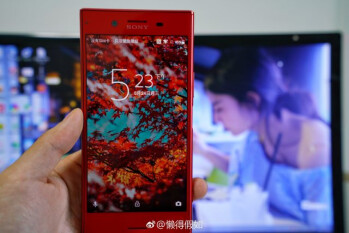 Red Sony Xperia XZ Premium leaked on Weibo