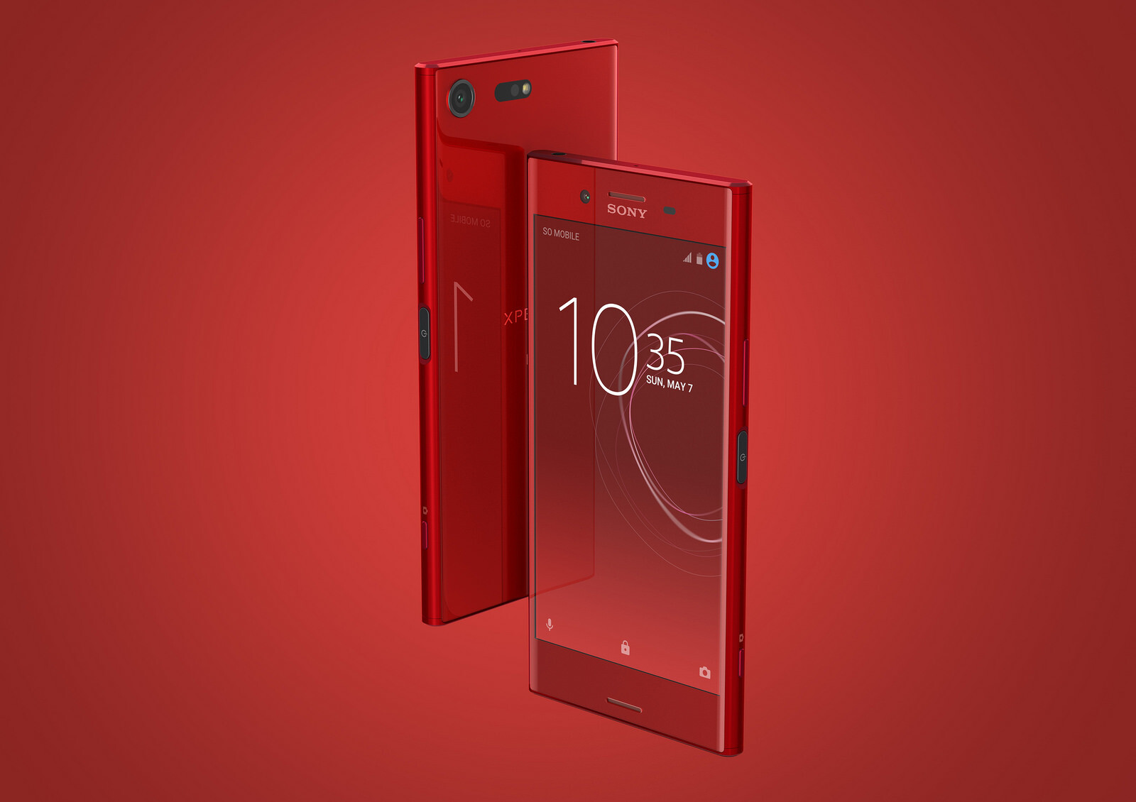 sony xperia xz premium. sony xperia xz premium in red xz t