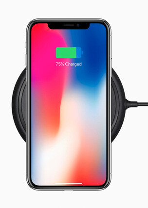 The Mophie wireless charging base works with iPhone 8, 8 Plus, and iPhone X. And it costs $60.