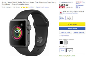 Deal: Best Buy offers important discounts on various Apple Watch Series 2 models