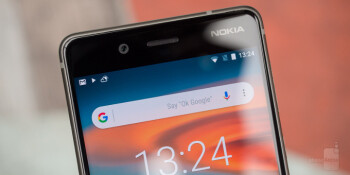 The Nokia 8 screen is not flagship-grade