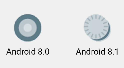 New cute Oreo icon for system notifications
