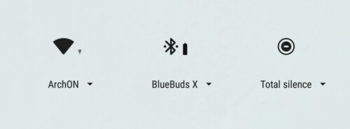 Bluetooth battery level