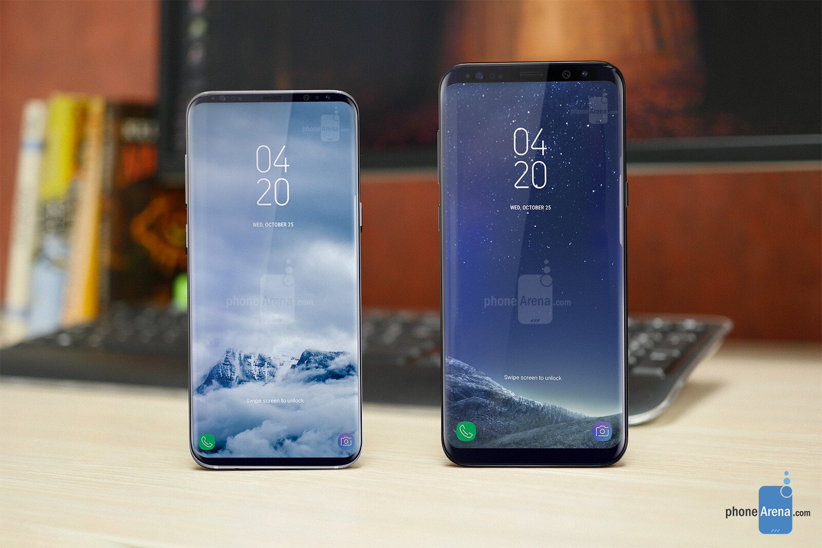 samsung galaxy s9 design renders offer an early glimpse at. Black Bedroom Furniture Sets. Home Design Ideas
