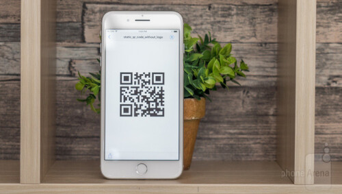 Non-photography camera trick: scan QR codes