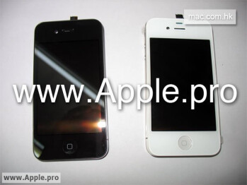 Ebony and Ivory iPhones