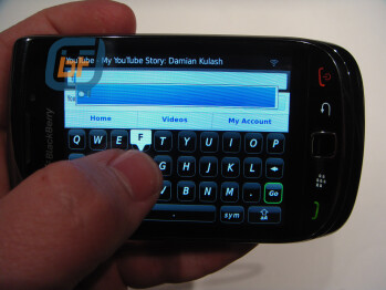 BlackBerry Bold 9800 Slider confirmed to not offer SurePress?