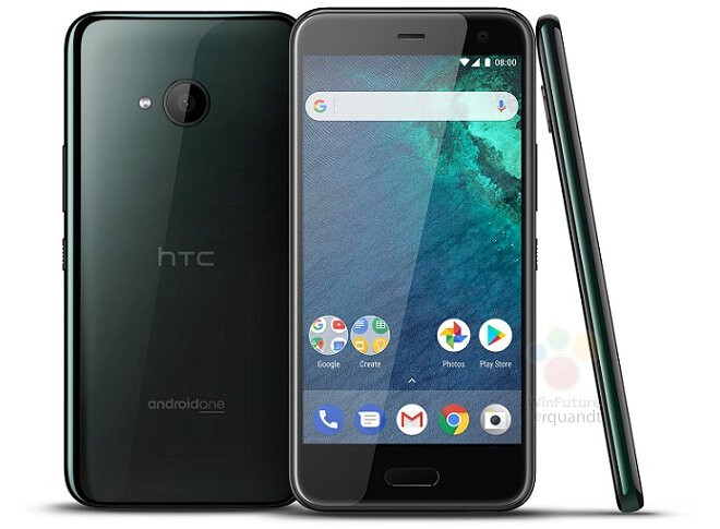 HTC U11 Life in Brillian Black - Time for leaks: Here's the HTC U11 Life in Brilliant Black