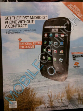 Motorola i1 is going to be exclusive with Best Buy & will require $50 unlimited plan?