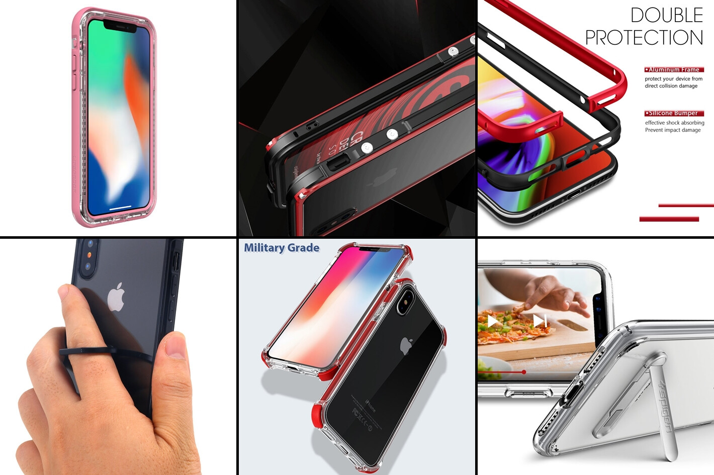 sale retailer 647f1 897ad iPhone X bumper cases: protect your device, don't hide its style ...