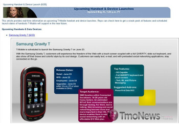 "Samsung Gravity 3, Gravity T, and ""Smile"" are pulling together for a June 23rd launch"