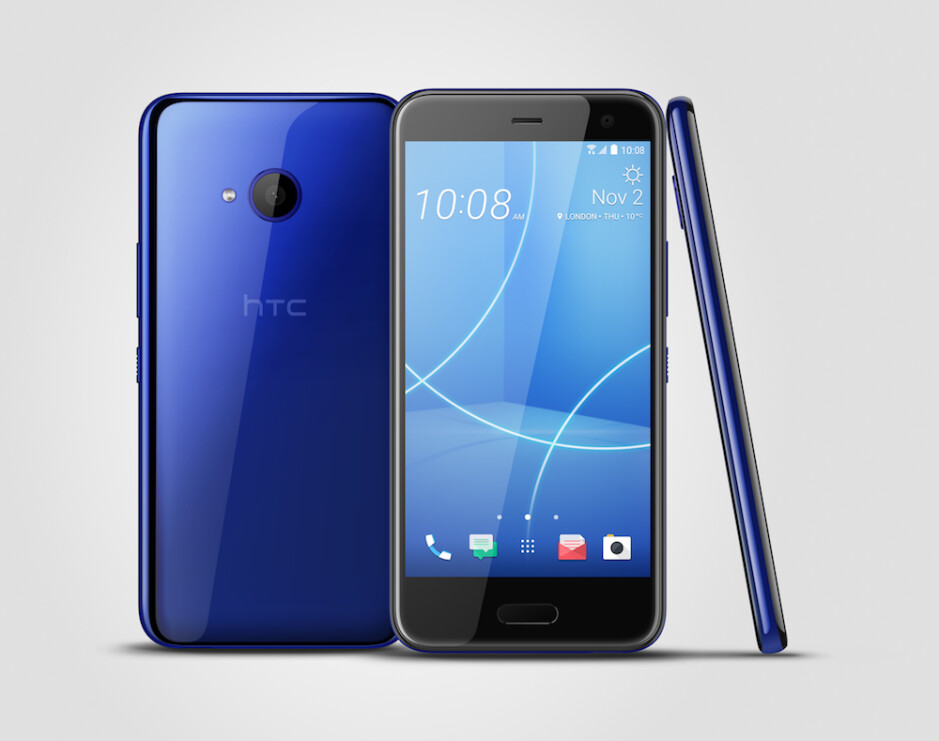 HTC U11 life in the US will come in Sapphire Blue. - HTC U11 life is official, will try to squeeze into your mid-range budget