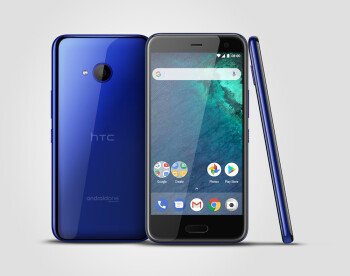HTC U11 life in Europe will run Android One and come in Sapphire Blue and Brilliant Black.