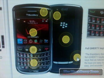 Verizon employees are getting trained on the BlackBerry Bold 9650?