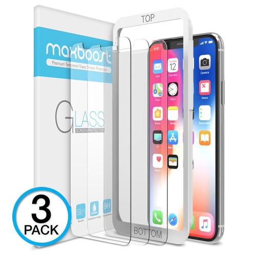 Maxboost iPhone X screen protector