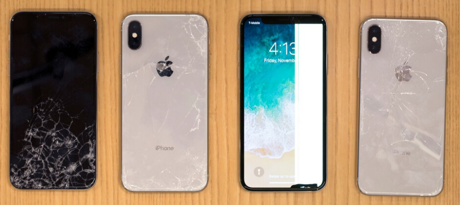 Tests conducted by Square Trade show that the Apple iPhone X is easy to break and is expensive to repair - SquareTrade finds that the Apple iPhone X is fragile and costly to repair