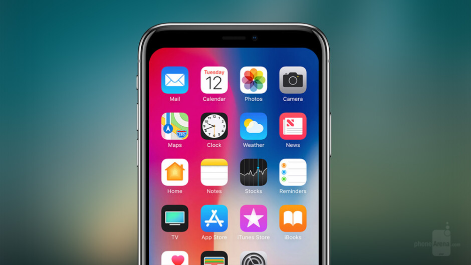 Don't like the iPhone X notch? Here's 15 wallpapers that make it disappear!