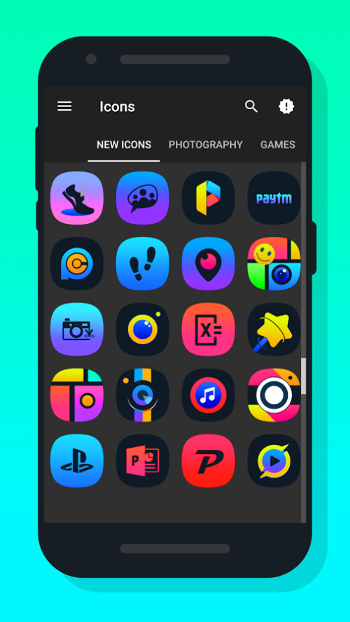 Light X icon pack
