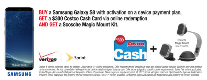 Costco Black Friday Deals Leak Out 300 Savings On Galaxy S8 50 Off Moto G5 Plus Phonearena