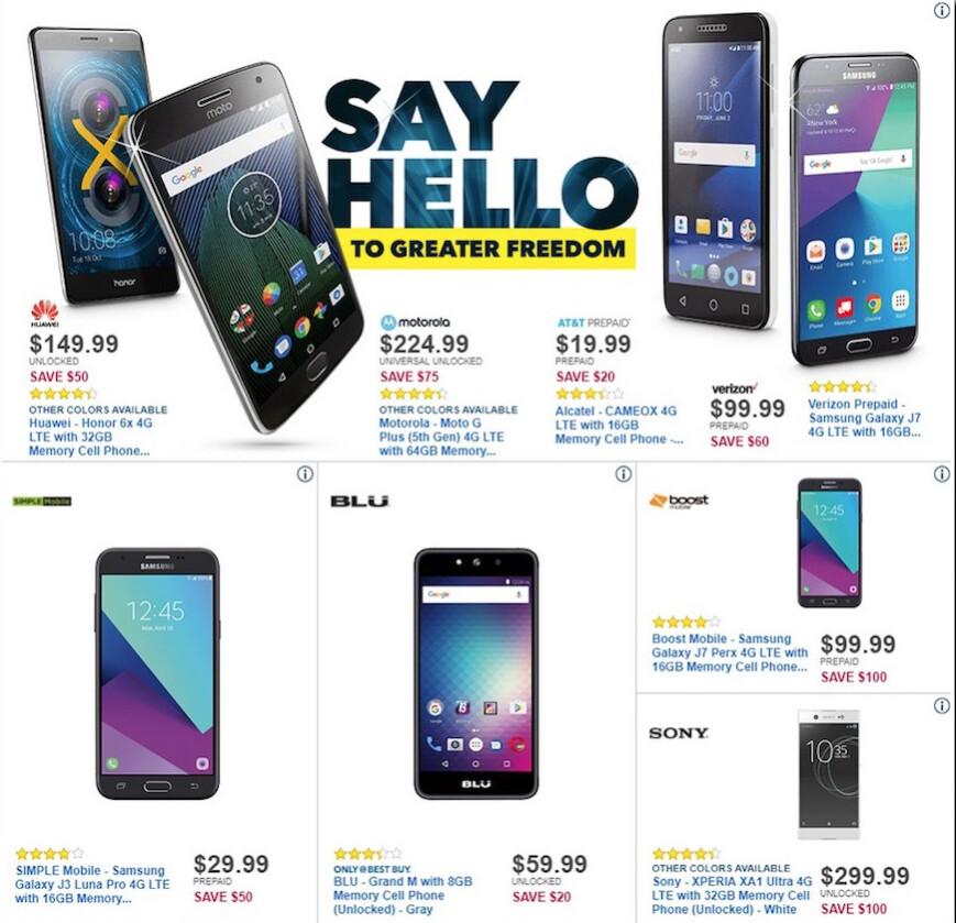 Browse all of the AT&T Black Friday & Cyber Monday offers on this page to get the hottest cell phone deal this holiday. All the AT&T Black Friday deals will be visible below —simply view the product details to get the full scoop on each offer.