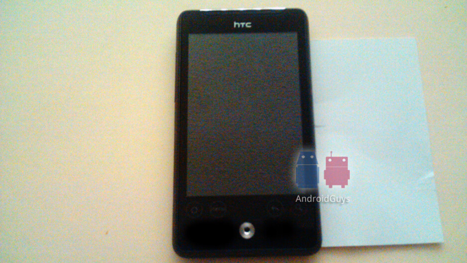 HTC Aria looks like love child of EVO 4G and Droid Incredible
